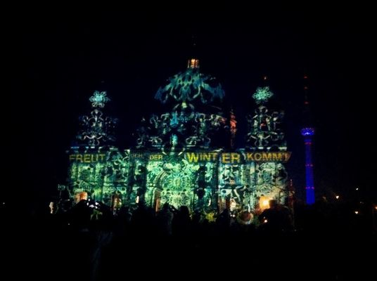 Festival of Lights 2012 at Lustgarten by René Machel