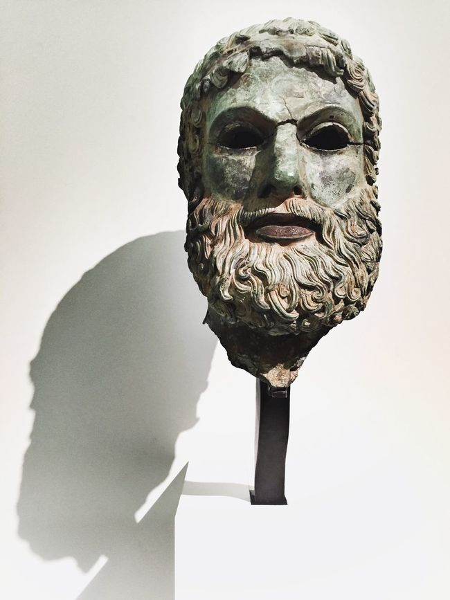 Magna Grecia Museum Check This Out Artistic Art, Drawing, Creativity Museum Man HEAD ReggioCalabria Calabria Magna Grecia Greek Ancient Culture Ancient Civilization Ancient Sculptures Sculpture ArtWork Art Statues Statue History Bronze Statue Bronze Taking Photos