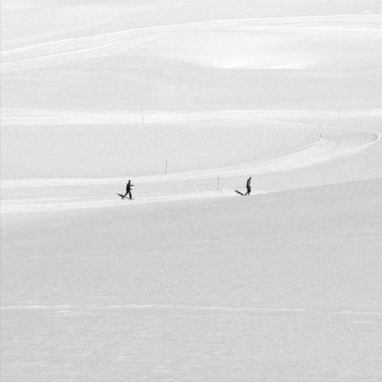 Lost in snow. Grupamobilni Lenk Igerssuisse Mobilnytydzien26