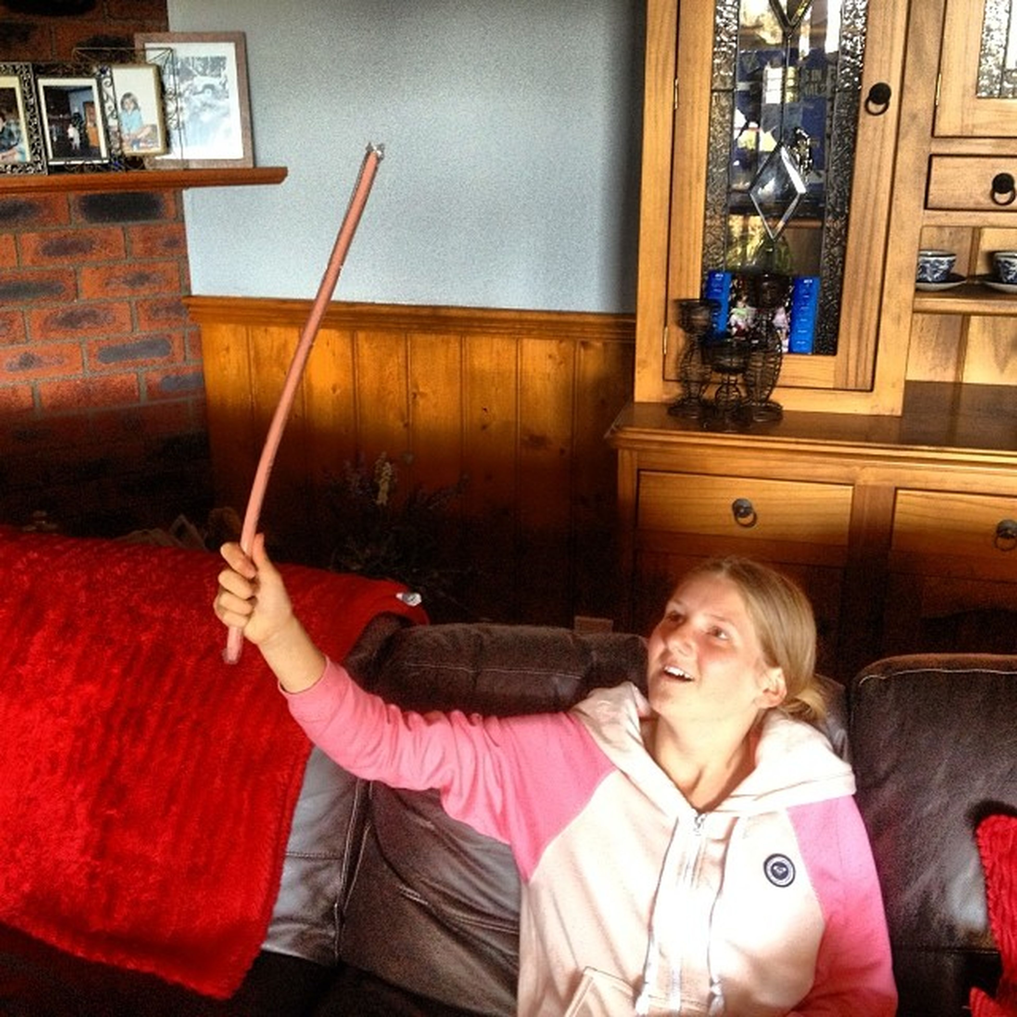 Sister just came home with the biggest stick of gum I've ever seen GivemeIt Imaginethebubbles Lilfk Imusthaveit dprox
