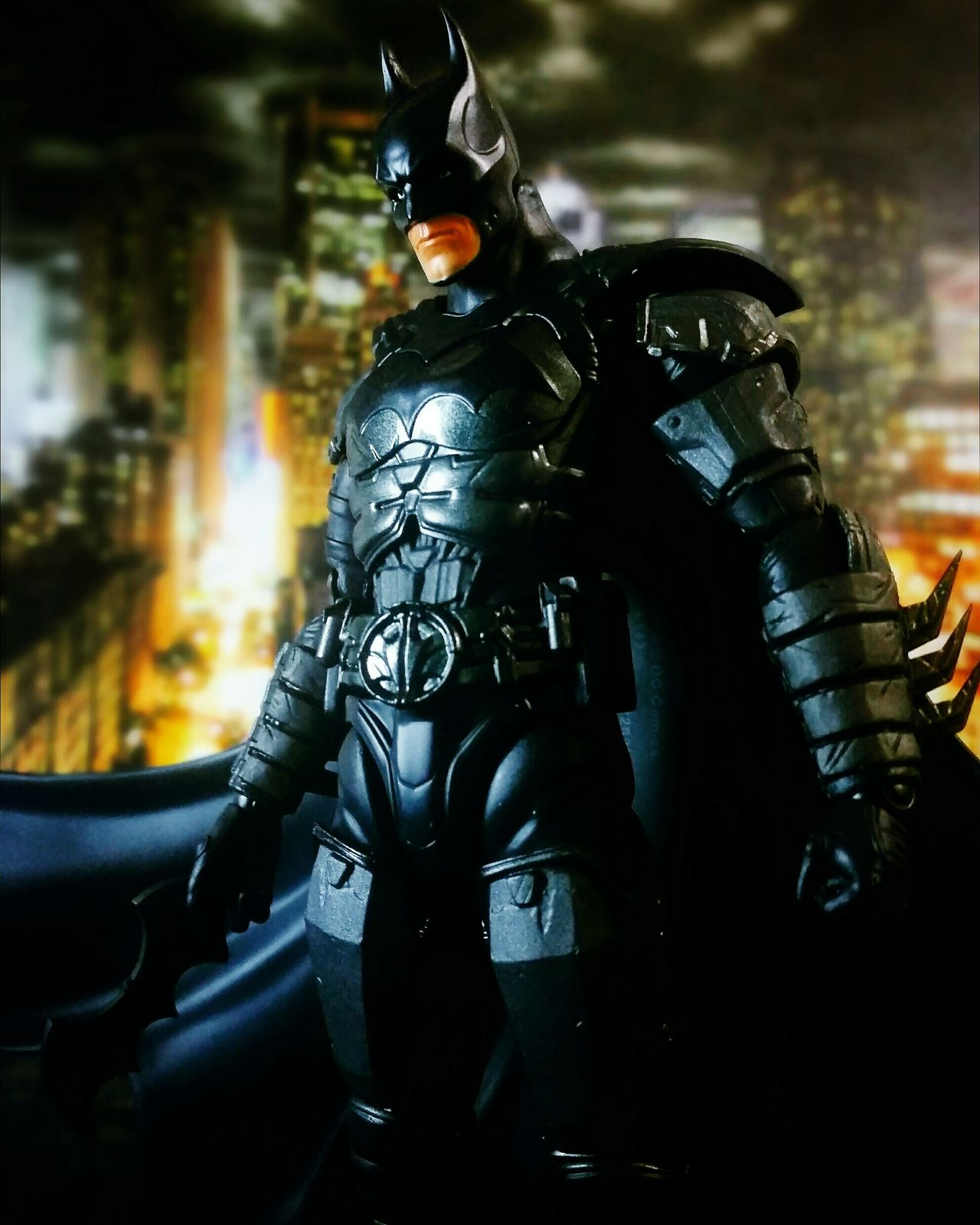The Dark Knight Shf Sh Figuarts Injustice Batman BANDAI Toyphotography Toy Photography Action Figures Tamashiinations Toys DC Comics Super Heroes