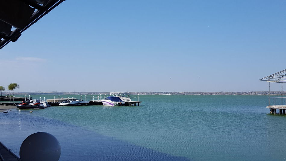Clear Sky Day On Lake Outdoors Sky Sutghiol Lake The Drive Transportation Water Finding New Frontiers