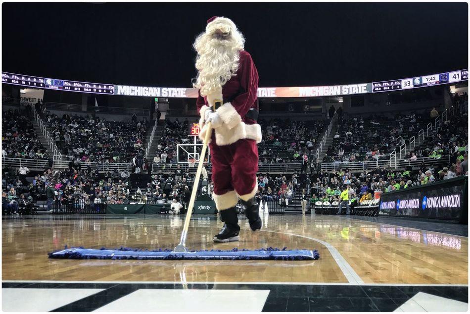 Santa Claus sighting