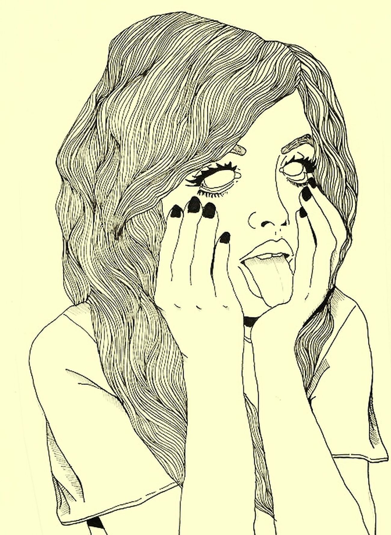 Drawing Dre▲m Beutiful  Girl