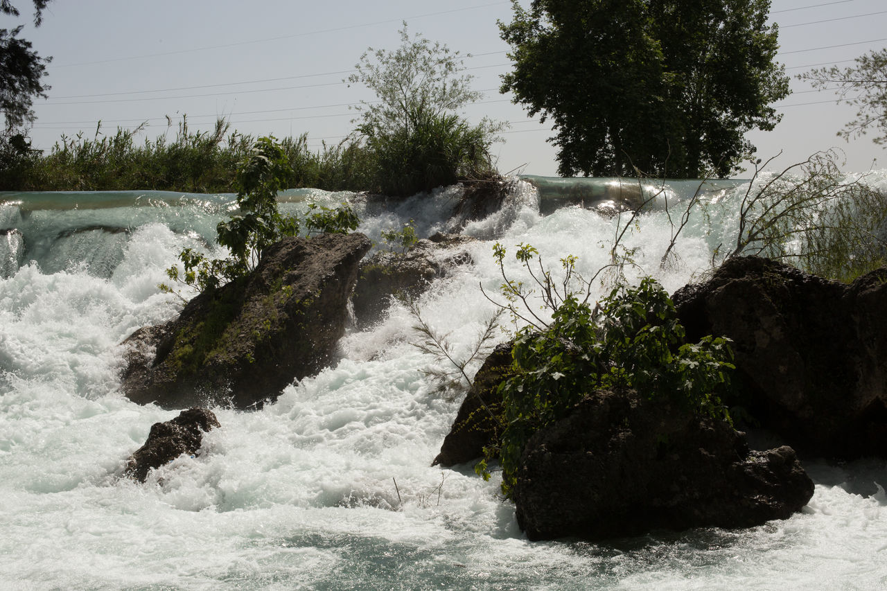 Tarsus Waterfall Beauty In Nature Boulders Flowing Water Greenery Growth Gushing Water Motion Nature Power In Nature River Rushing Water Scenics Shrubs Tarsus Tarsus Şelalesi Tarsus, Turkey, Waterfall, South, Tranquil Scene Tranquility Travel Destinations Trees Turkey Water Waterfall White Water