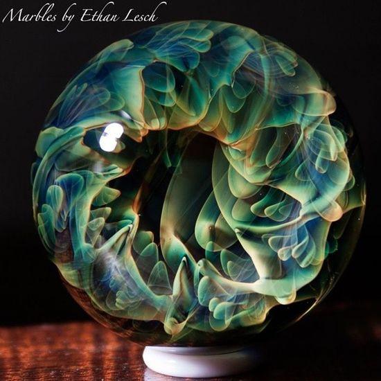 Marblemadness Boromarble Headyart Headyglass headymarbles marble glassmarble glassblowing glasslove boro ventura 805 ethanlesch art