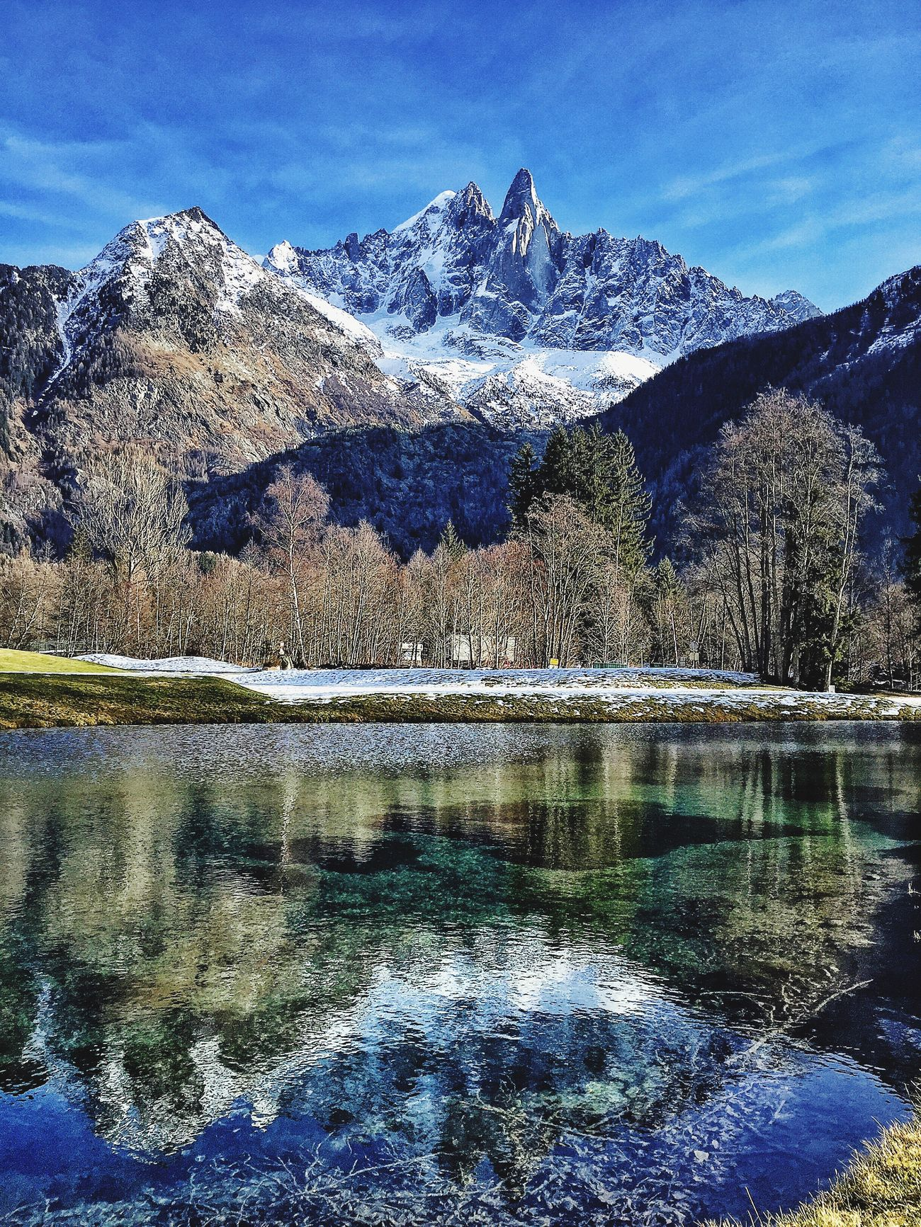 Take a breath and feel the nature 😊 Hello World Enjoying Life Montblanc Chamonix-Mont-Blanc Flegere Happynewyear2016 Water Reflections Reflection Reflections Reflection_collection