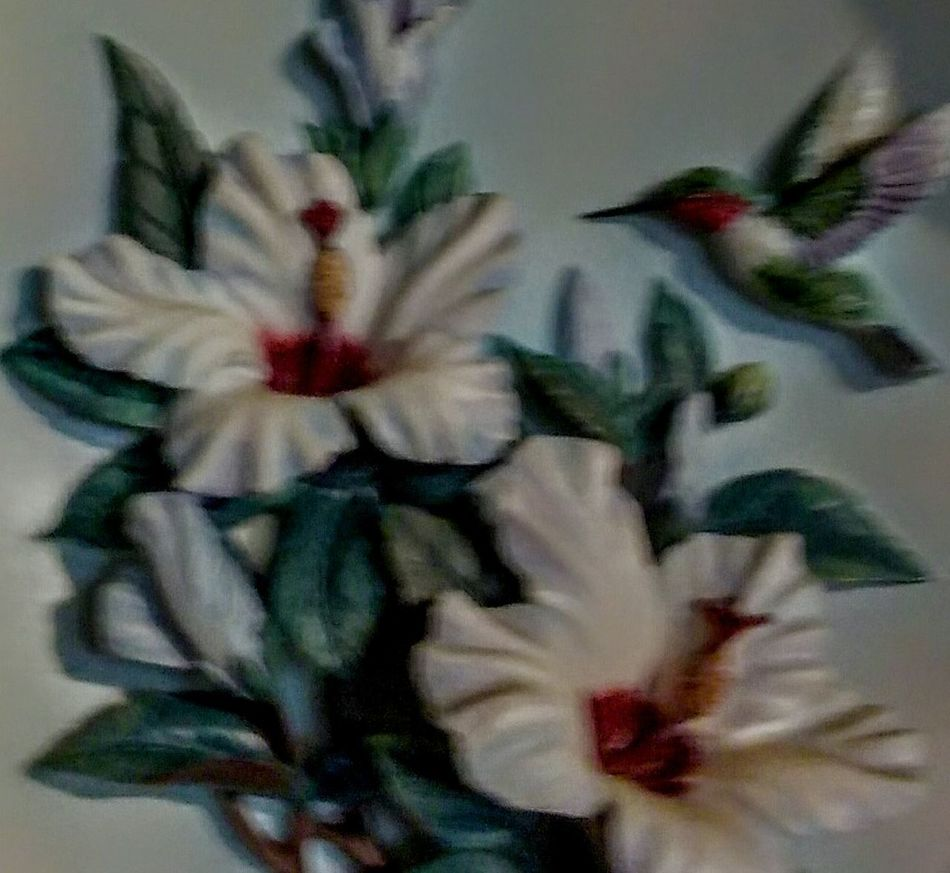 Painted Image Indoors  Flower