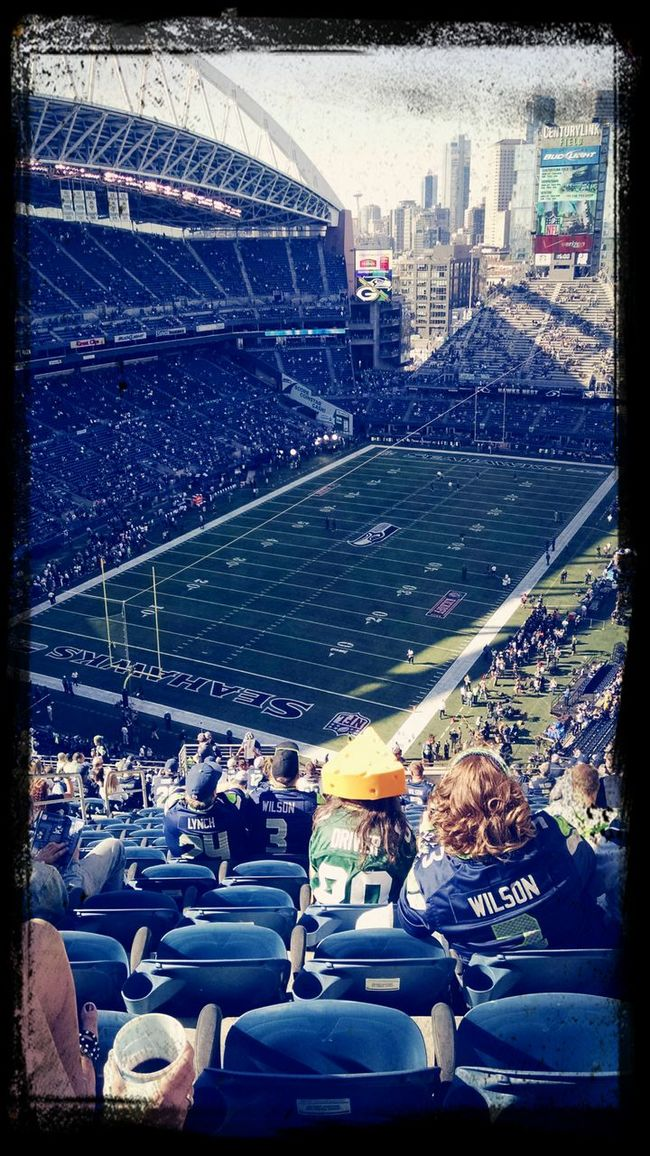 Good day to be a seahawk, bad day to be a Packer. Buy the ticket, take the ride. Go Pack! Check This Out Enjoying Life Cheese!