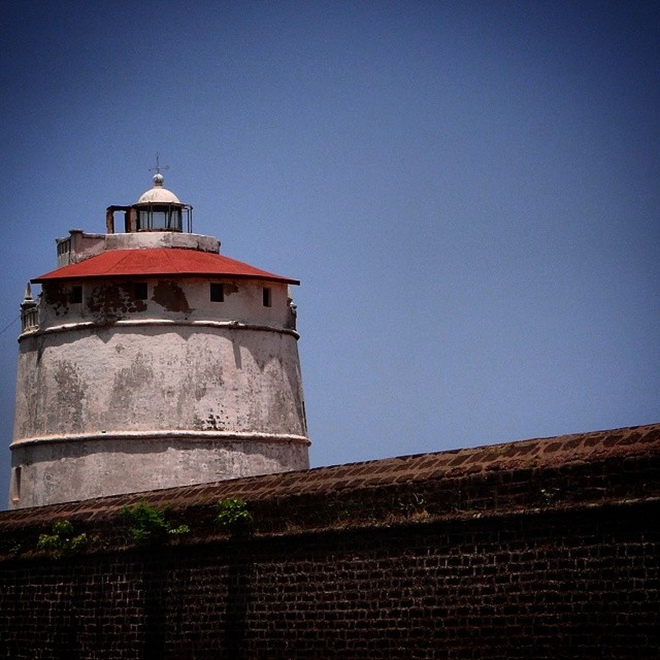 I am your guiding light (Lighthouse at Fort Aguada) Fort Aguada Goa Lighthouse History
