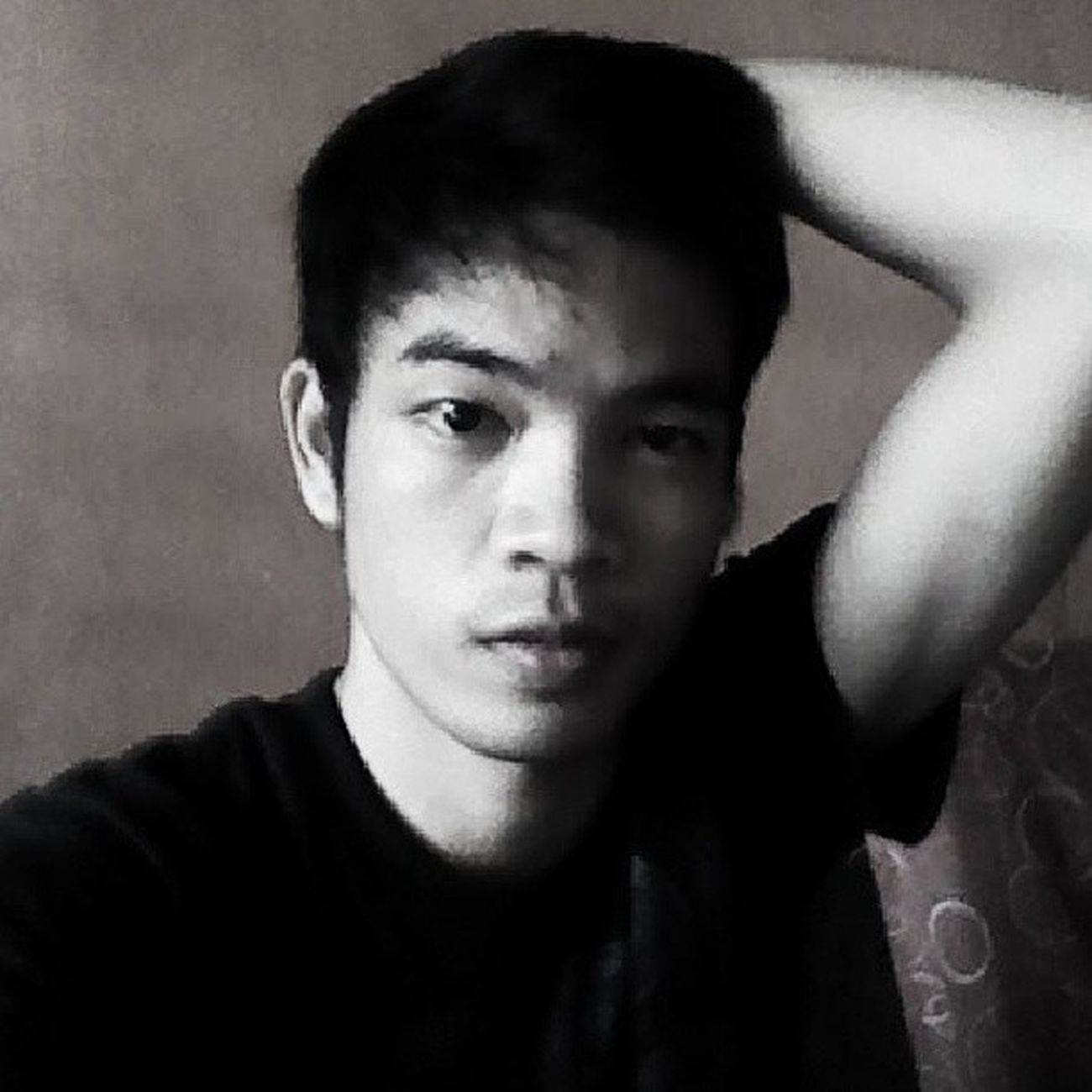 AnotherSexyPose Selfie Blackandwhite