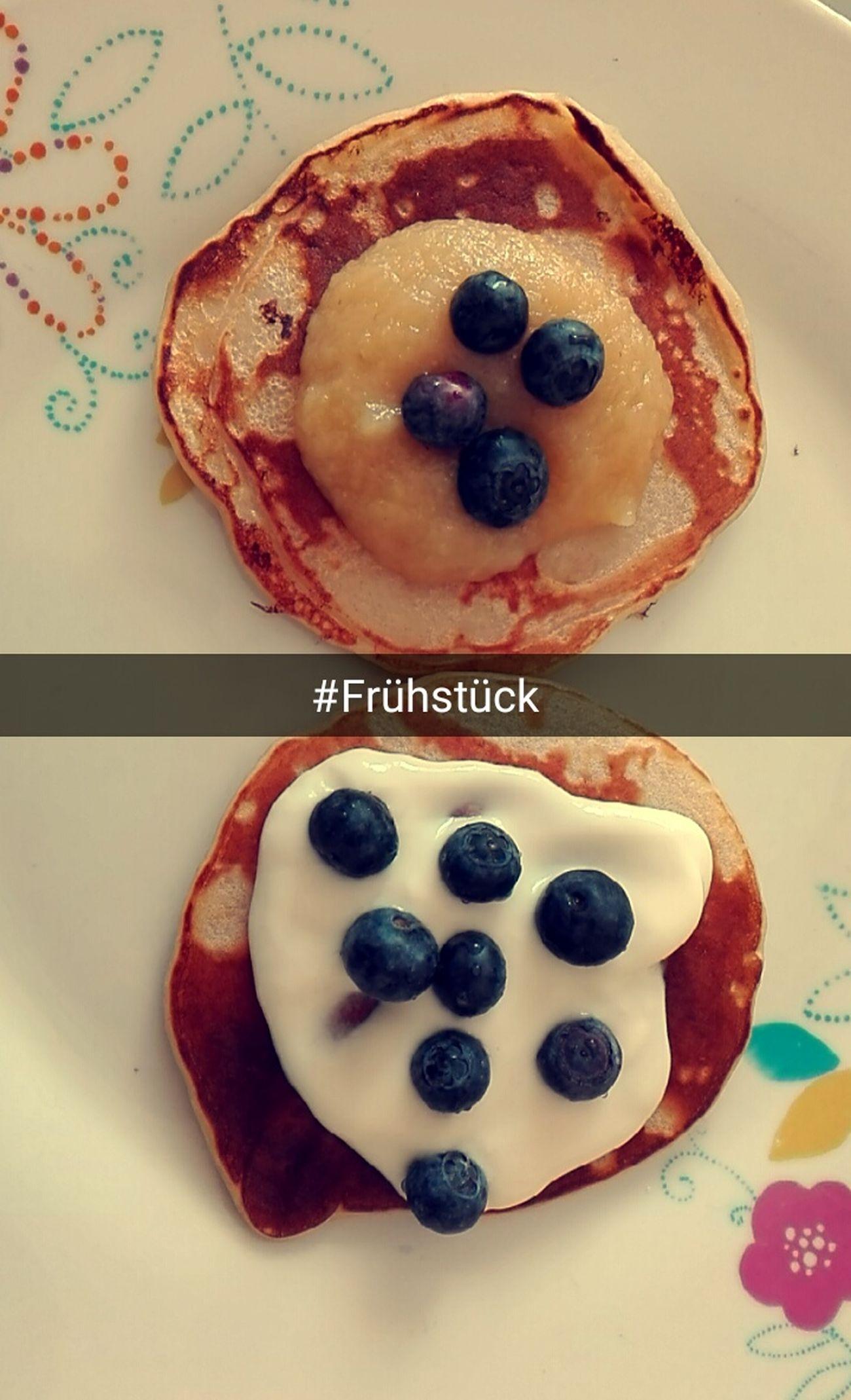 Frühstück Mmmm☺ Pfannkuchen Lecker Nice Hungry Soo Cute Süss