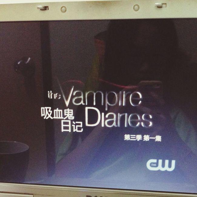 Now watching Thevampirediaries Season 3 Saturday Noon