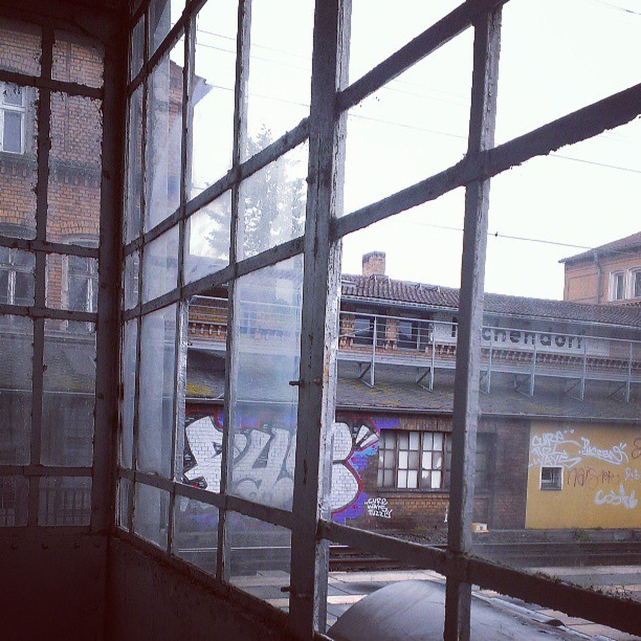Bahnhofsidyll.