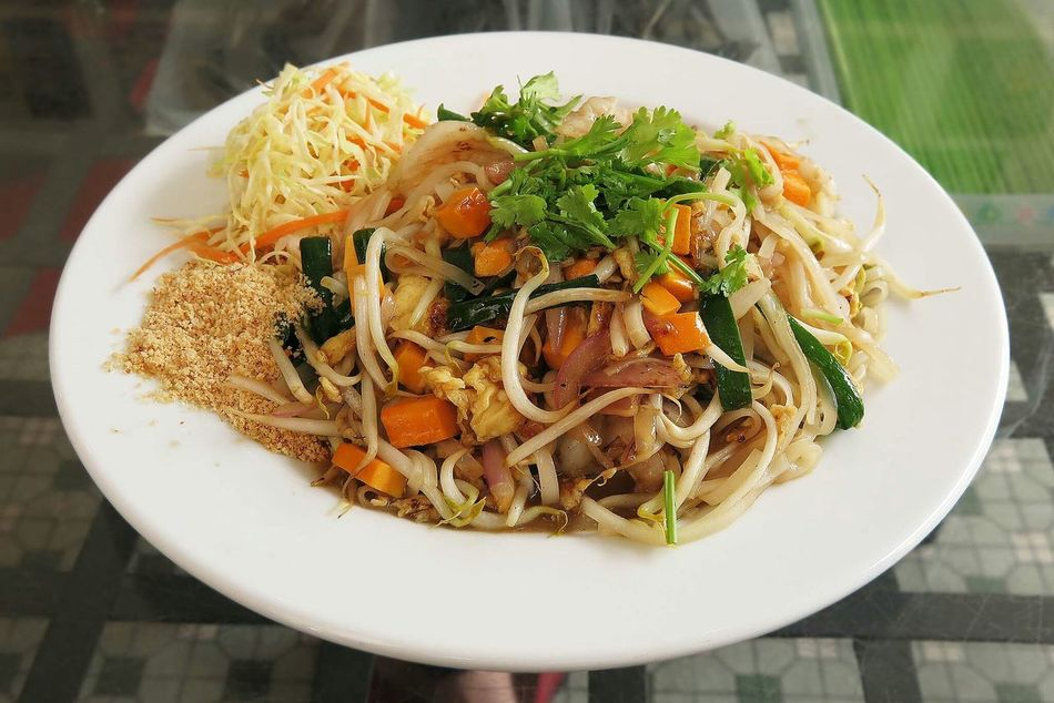 Phadthai with Prawns Thai Food Sgfood Foodporn The Foodie - 2015 EyeEm Awards Spotted In Thailand
