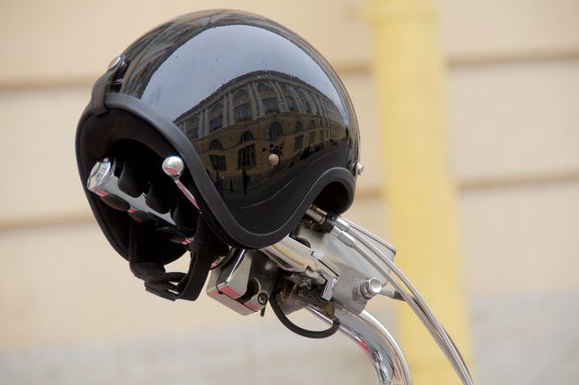Motorbike Motorcycle Helmet Motorbike Helmets Reflection