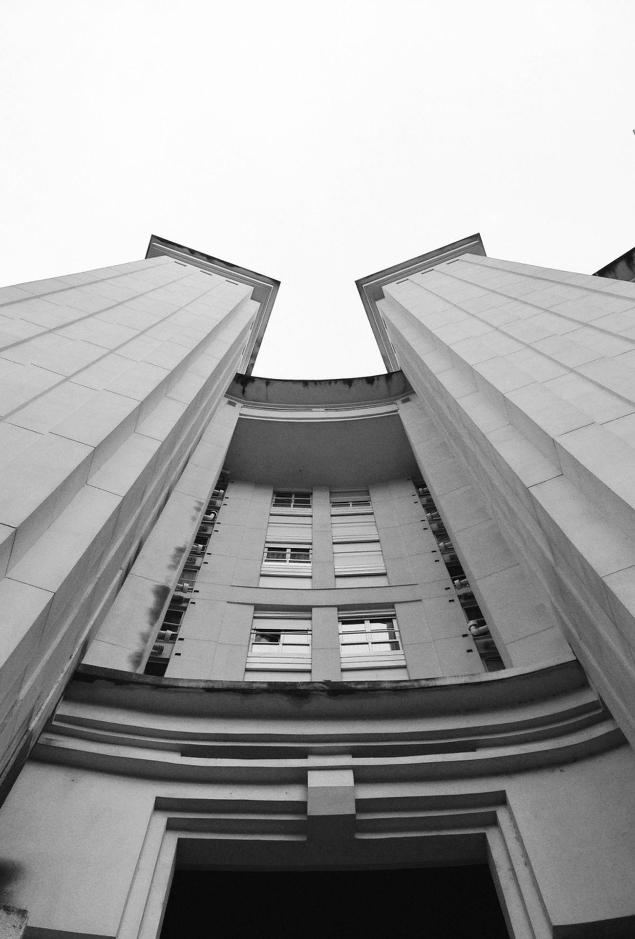 Arquitecture Blackandwhite Lookin Up Dont Be Square