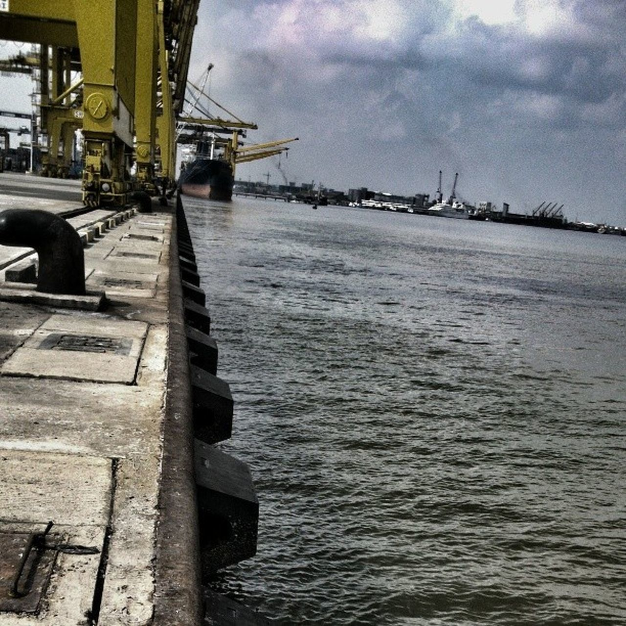 Belawan Port Seaport Civil Engineering Civilengineering Coast Medan INDONESIA Harbour Belawanport