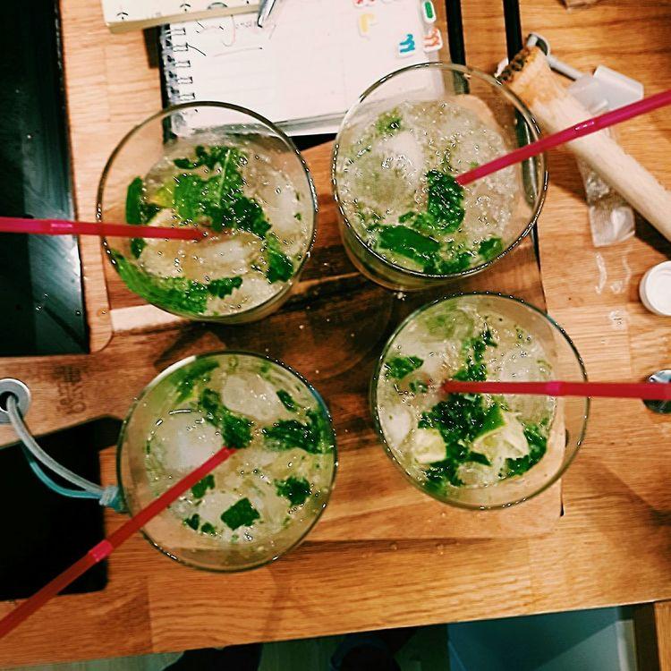 Virgin mojito :) Virgin Mojito Mojito Drink Preperation Culinary EyeEm Best Shots