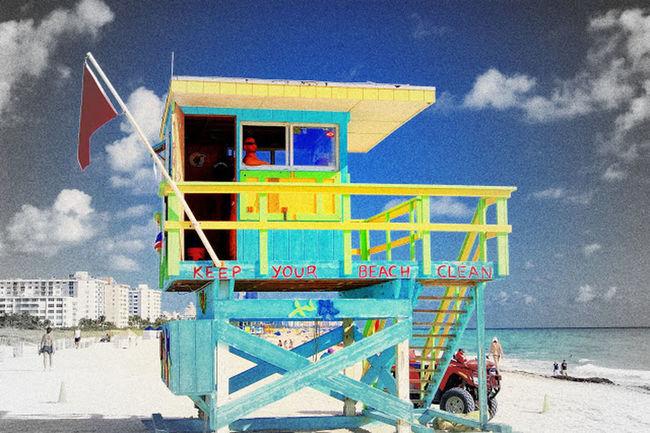 Life Is A Beach south beach miami Miami