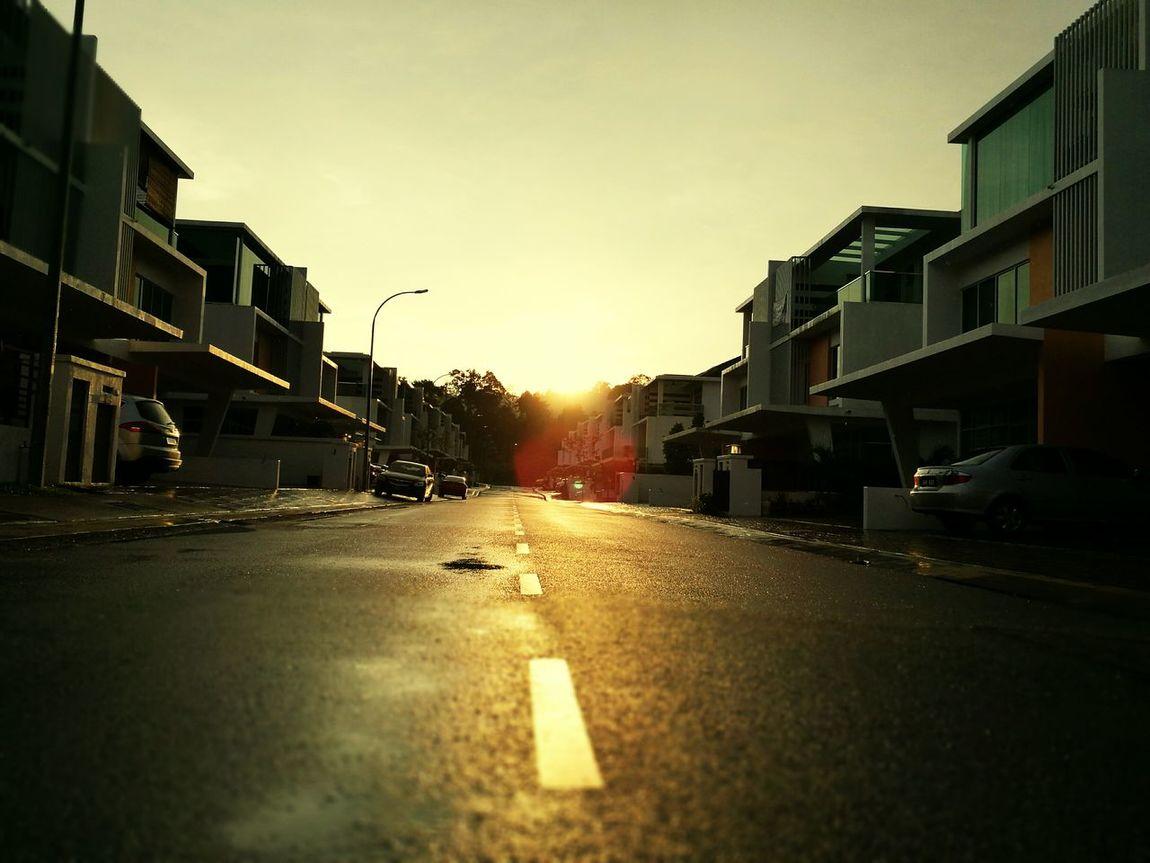Sunset Street No People Kinrara Puchong Dusk At Home