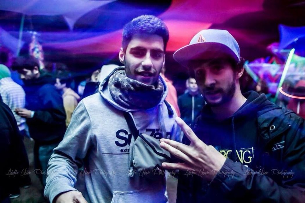 When magic happens #Rave West Side Friends Thug Life