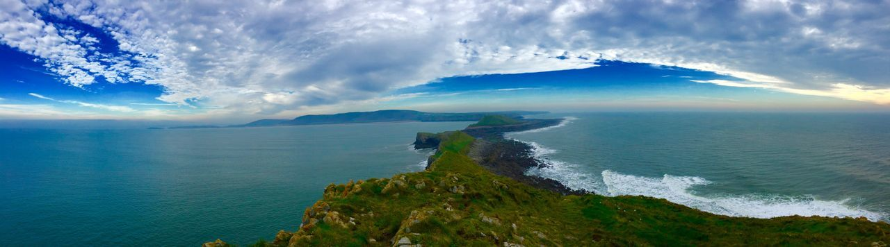 Rhossili Bay Worms Head Wales The Gower In Beautiful Wales