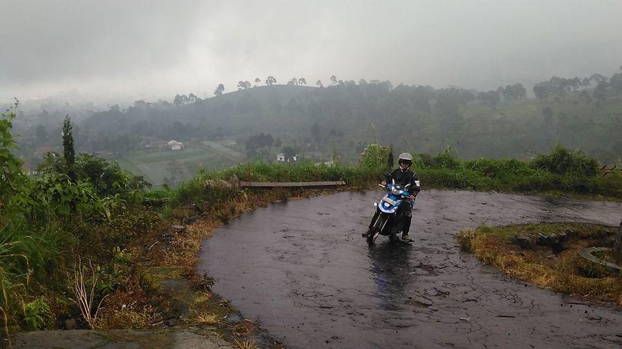 """Road to Segara Gunung"" (Original File) Java Indonesia Scenery Central Java Tourism Hill Rural Village"