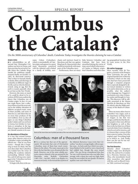 The true of history History True Story True Facts  Colon Barcelona