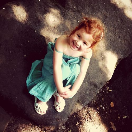 Redhead Ginger Portrait RePicture Family