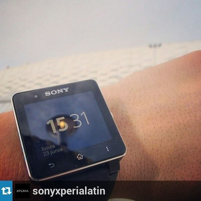 Repost from @sonyxperialatin with @repostapp — Amarás tener un Smartwatch2 Xperiadetails