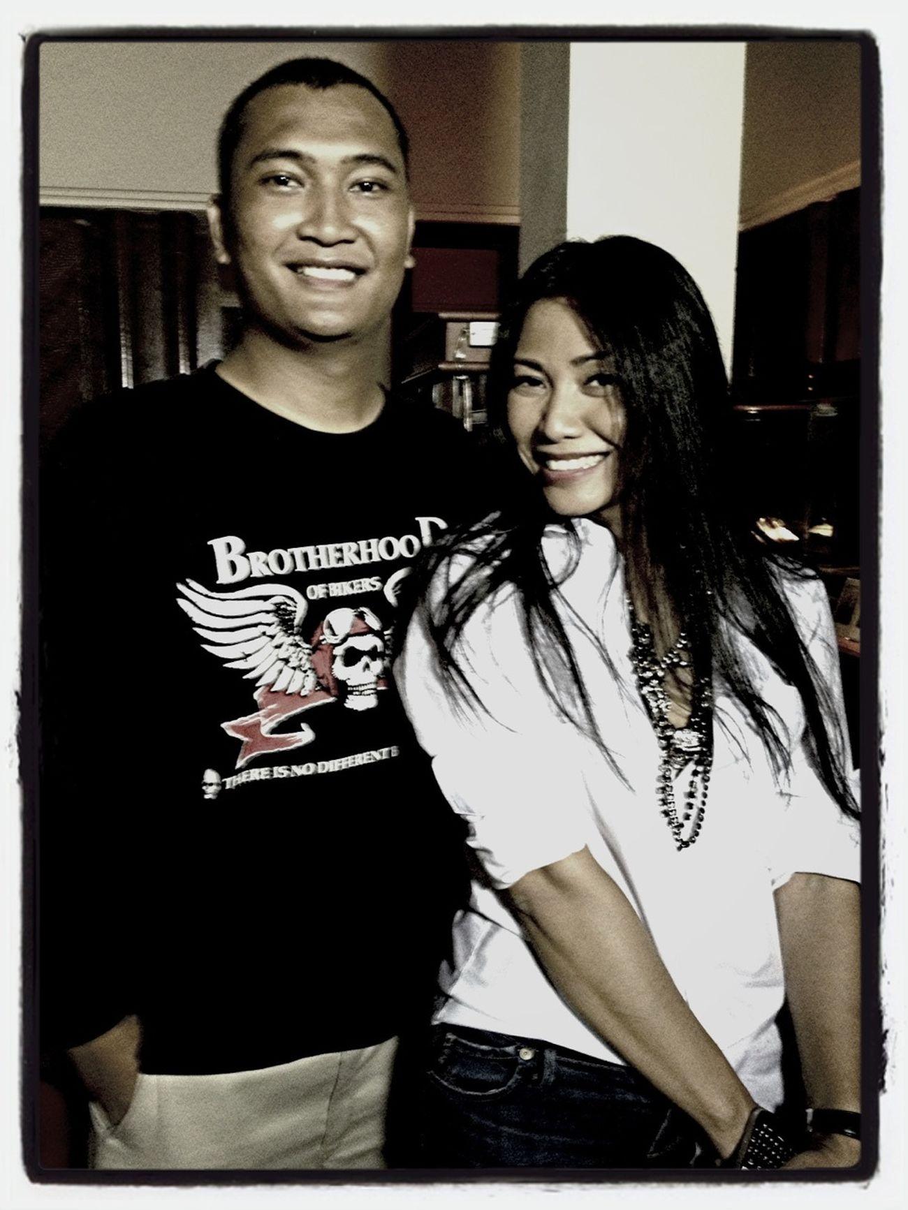 With Anggun