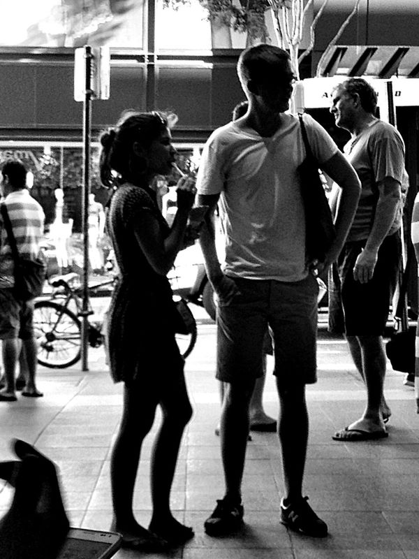 Streetphoto_bw Blackandwhite IPhoneography Silhouette