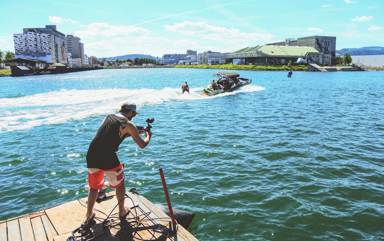 The Cameraman Portrait Wakesurfing Scenery Shots Down By The Creek Bubble Days 2017 The Great Outdoors - 2017 EyeEm Awards Summer In The City