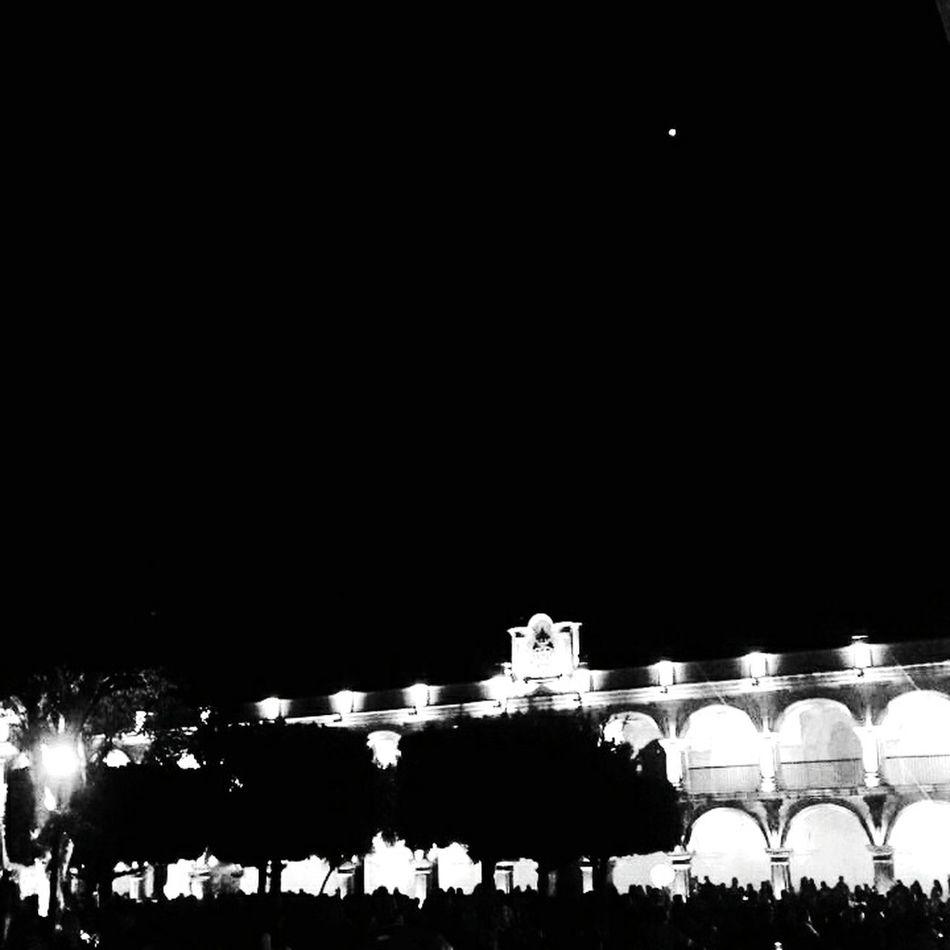 Luna antigua Antigua Guatemala AntiguaGuatemala! ❤ Night No People Illuminated Sky Outdoors