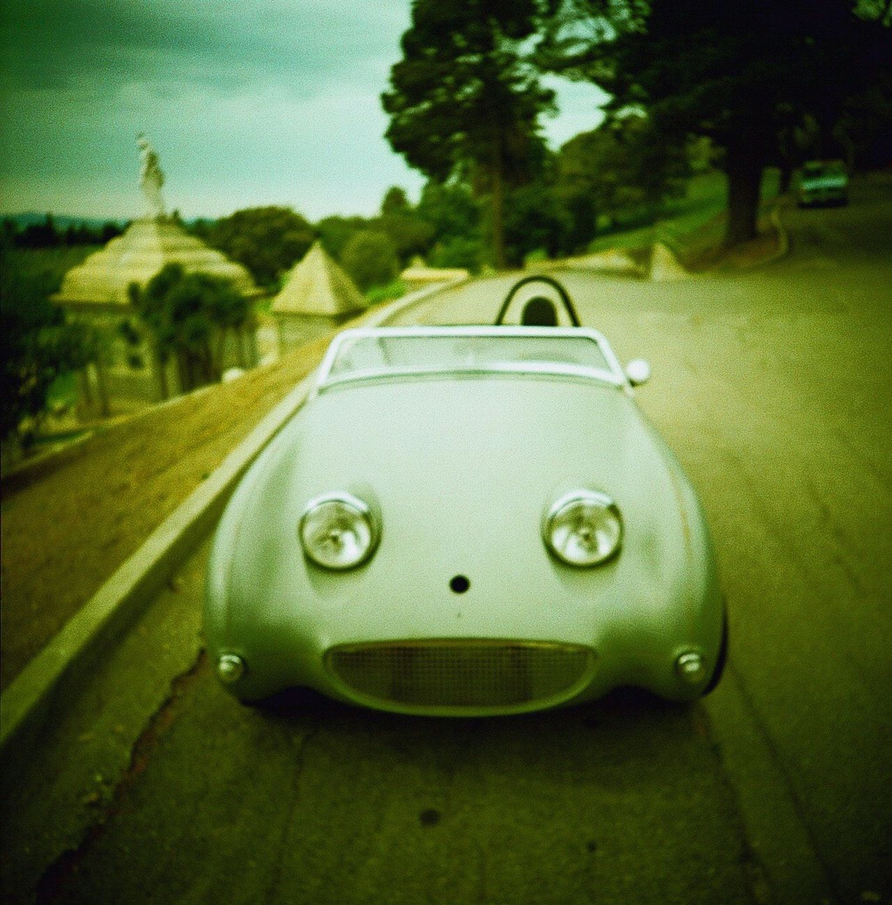 Classic Car Focus On Foreground Outdoors Film Koduckgirl Film Photography Car Convertible
