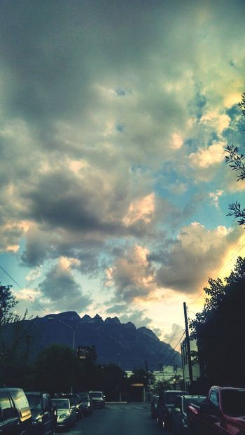 Look at the sky and see what God has for you Landscape Sky Clouds Mountain