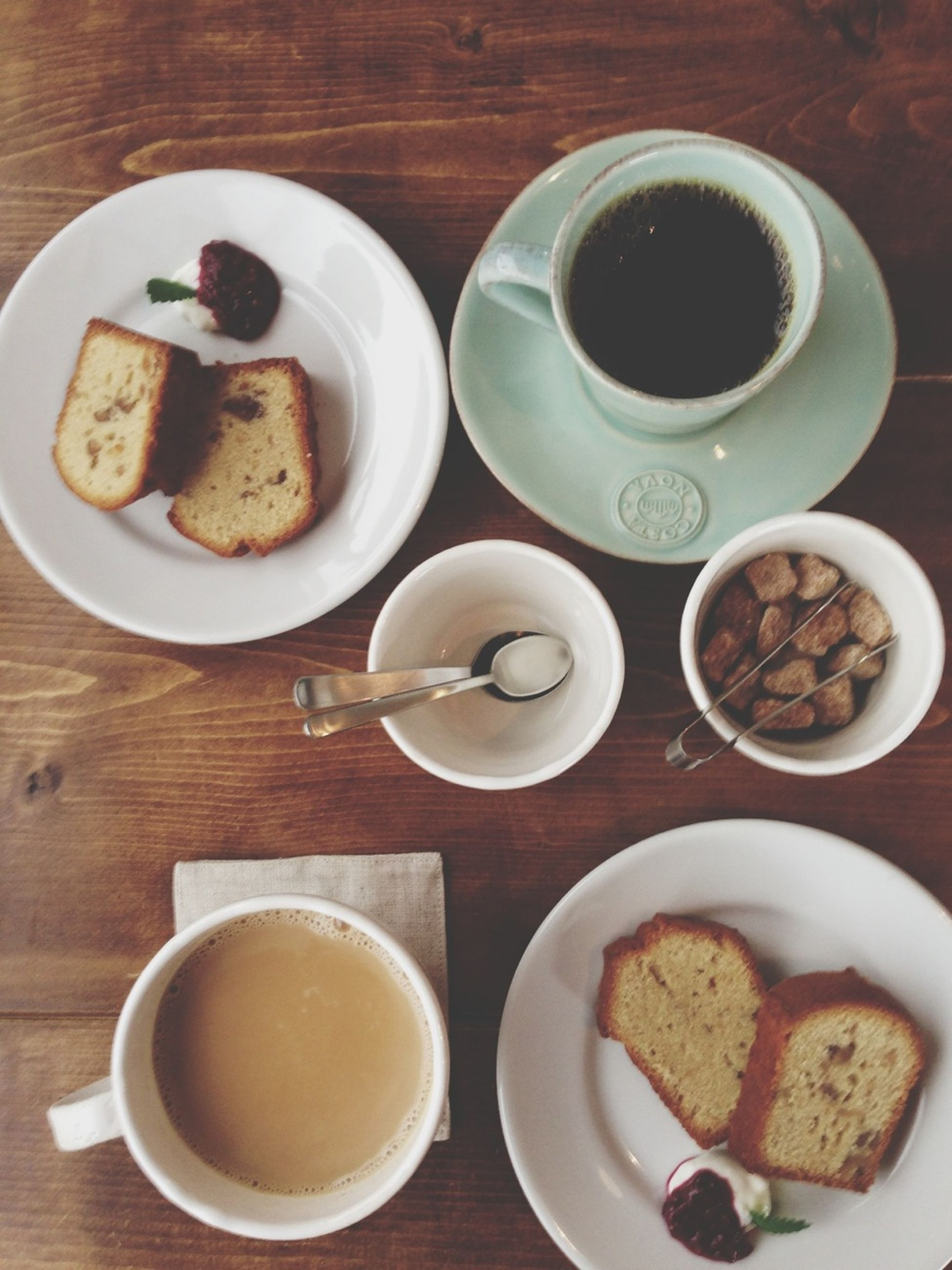 Coffee Goodafternoon Cakes