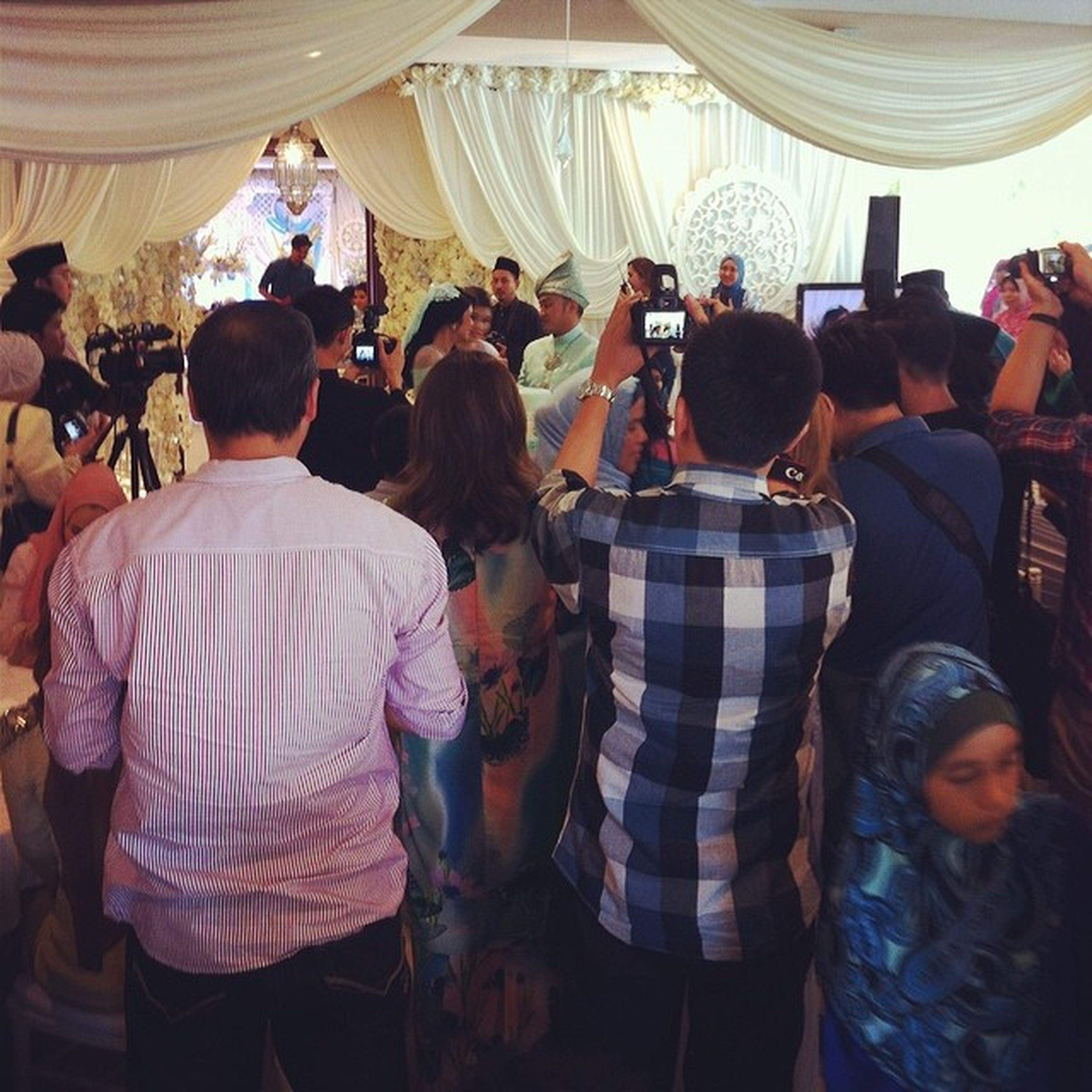 Feels like movie stars just got married. All the best @azrul_izwan Wedding Azrulia2014 Kualalumpur Malaysia