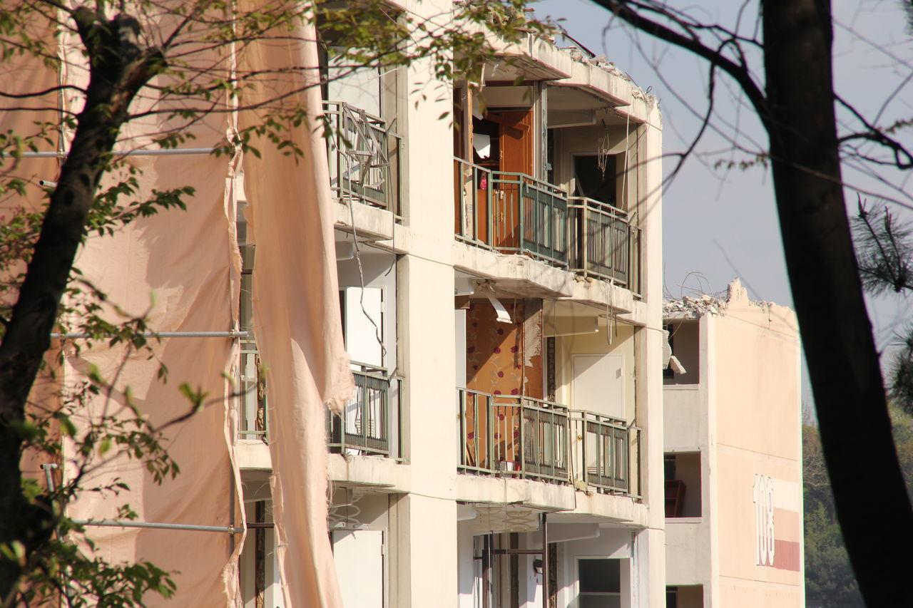 Apartment Architecture Building Exterior Built Structure Day Demolition Destruction House No People Outdoors Residential Building Seongnam