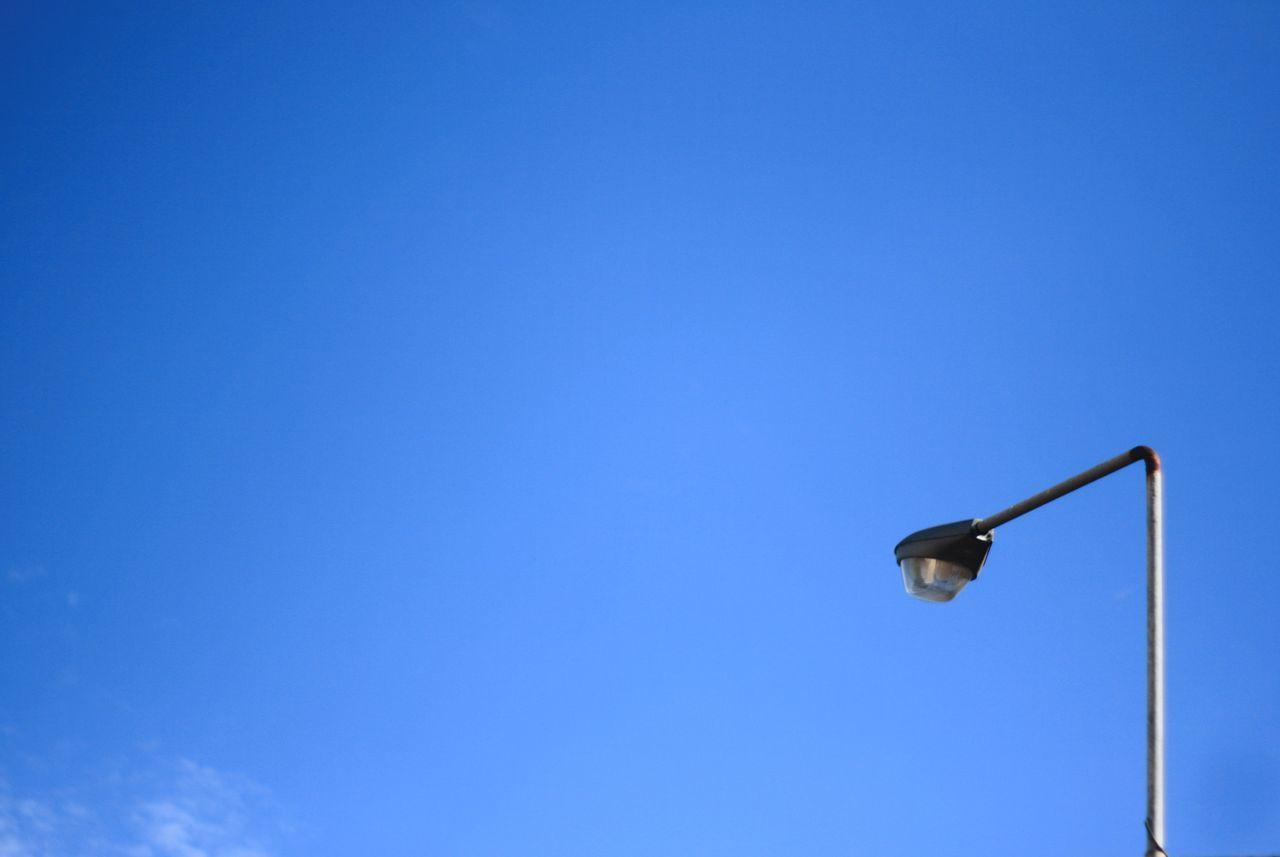 city lamp Blue City Lamp Clear Sky Copy Space Day Low Angle View No People Outdoors Sky