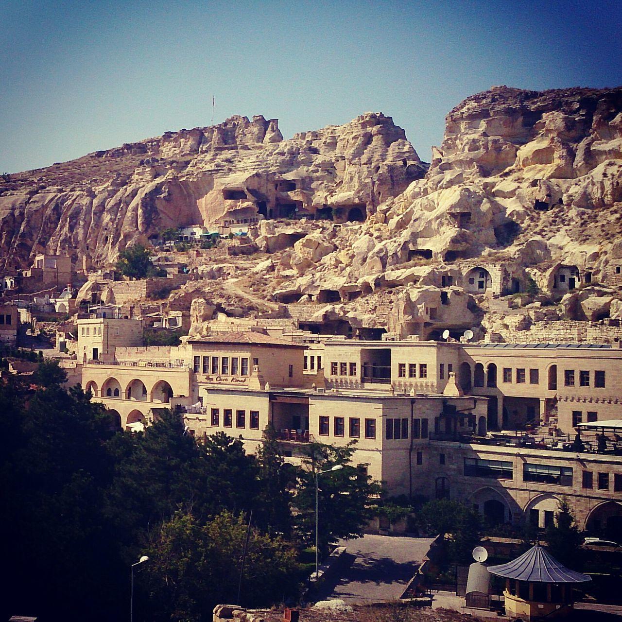 Cappadocia Against Clear Sky