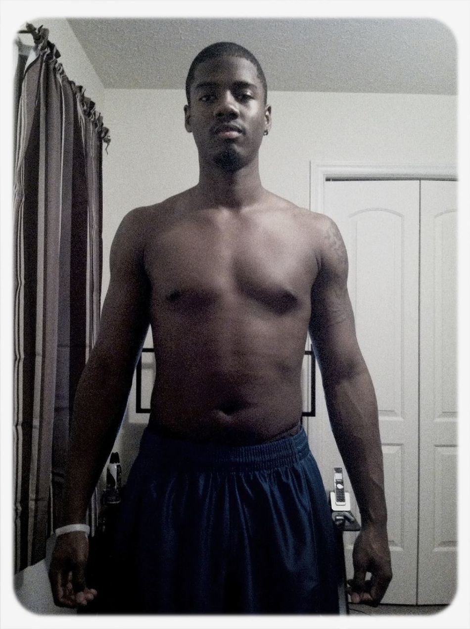 Been hittin the gym again, gotta get some more results