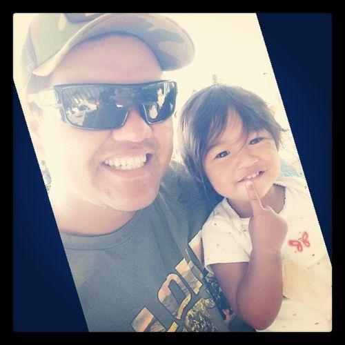 My 1 girl! @choch00 @raynebows07 Daddysgirl Alaina33013 Hawaii lanaimobettah luckywelivehawaii