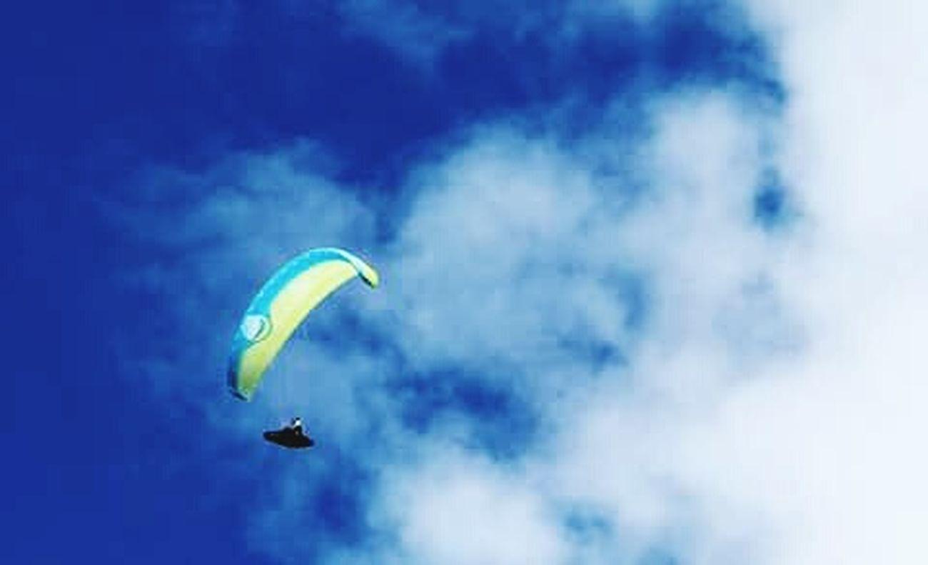 Cielo Nuvole Parapendio &parapendio