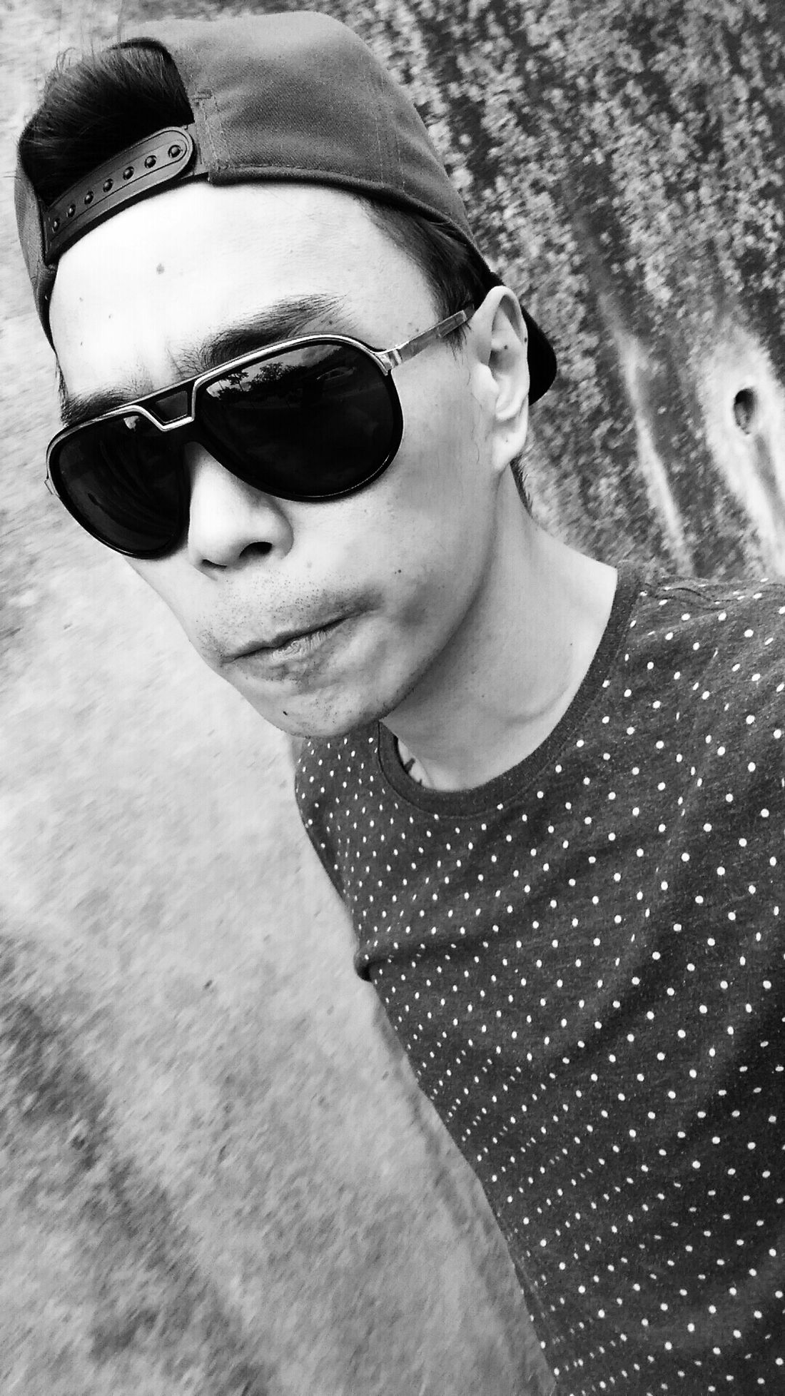 Be yourself. Im original Streetphotography Blackandwhite Asian  Street Fashion