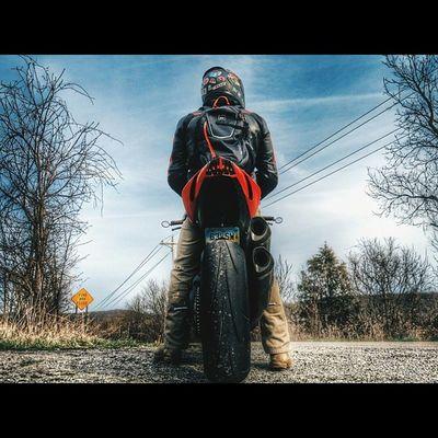 Get up an hour earlier to live an hour longer. Todaysadventures Postwork Ducati Ducatisofinstagram ducatistreetfighter motorcycles