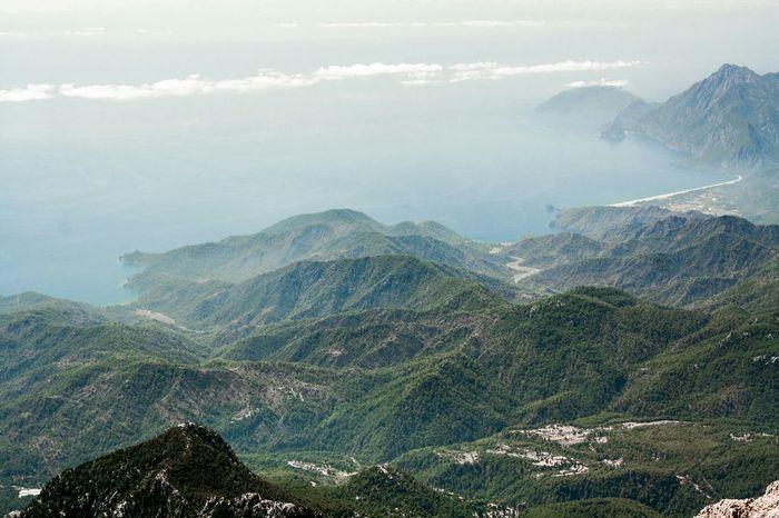 2365m Mountains Landscape White Sea Turkey Tahtali OpenEdit Travel Mountain View