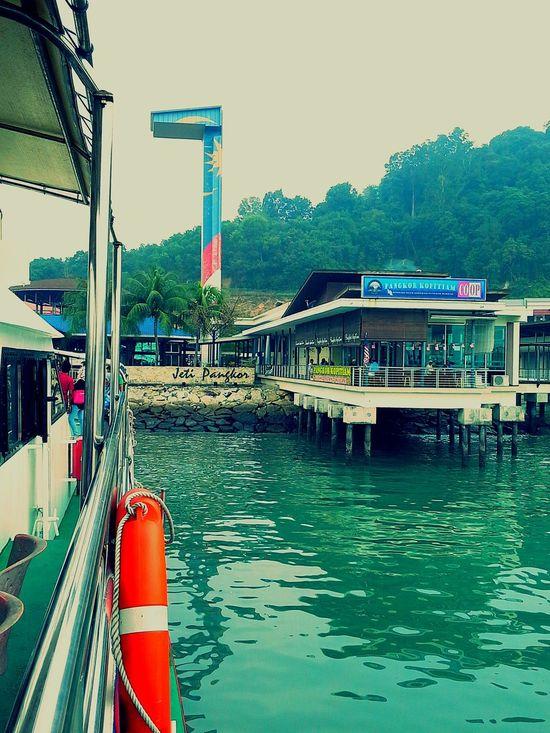 Jetty Pangkor Island Perak 2015Trip Jalanjalanperak Malaysia EyeEm Malaysia Vacation Time Island Life By Ismi_zuehaira