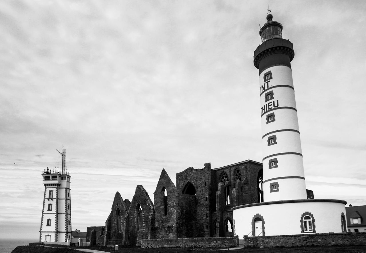 Architecture Bnw_friday_eyeemchallenge Bnw_lighthouse_captures Building Exterior Lighthouse No People Sky Travel Destinations Bnw_lighthouse
